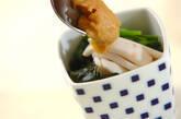 イカとニラの酢みそがけの作り方6
