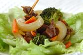 砂肝のカレー炒めの作り方2