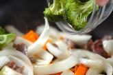 砂肝のカレー炒めの作り方1