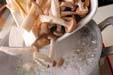 キノコのパスタの作り方の手順8