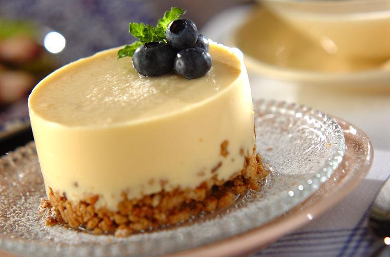 3.レアチーズケーキ
