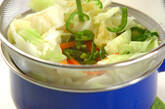 ザク切りキャベツのゴマ和えの作り方5