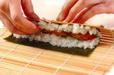 細巻き寿司の作り方2