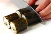 細巻き寿司の作り方3