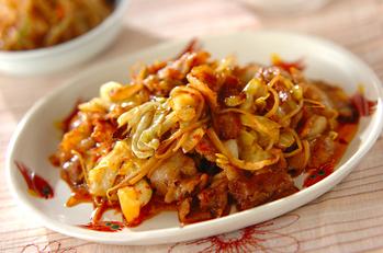 豆モヤシ入り回鍋肉(ホイコーロー)