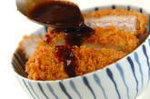 ソースカツ丼の作り方3