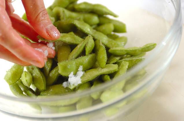 枝豆の豆腐和えの作り方の手順1