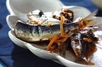 イワシの山椒風味煮