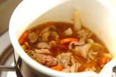 焼き肉ダレ肉ジャガの作り方2
