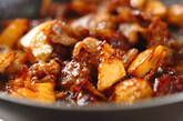 タケノコと豚肉のオイスター炒めの作り方4