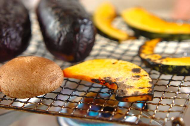 焼き野菜と油揚げのゴマ酢和えの作り方の手順6