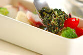 タコのグリーンソースの作り方5