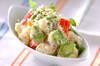 ポテトとカニカマのサラダの作り方の手順