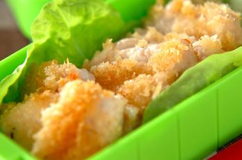 チキンの香草パン粉焼き