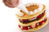春のホットケーキの作り方の手順4