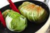 ロール白菜のゴマ油炒めの作り方の手順3
