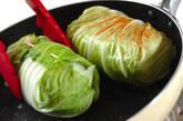 ロール白菜のゴマ油炒めの作り方3