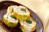 ロール白菜のゴマ油炒めの作り方の手順