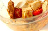 豆腐のピーナッツソース和えの作り方4