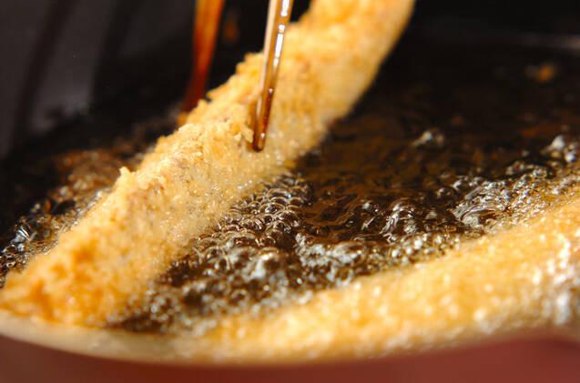 サーモンのチーズサンドフライの作り方の手順6