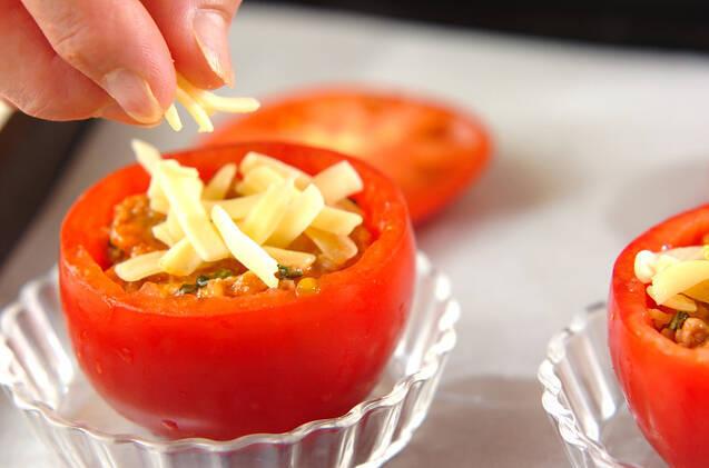 詰め物トマトのオーブン焼きの作り方の手順6