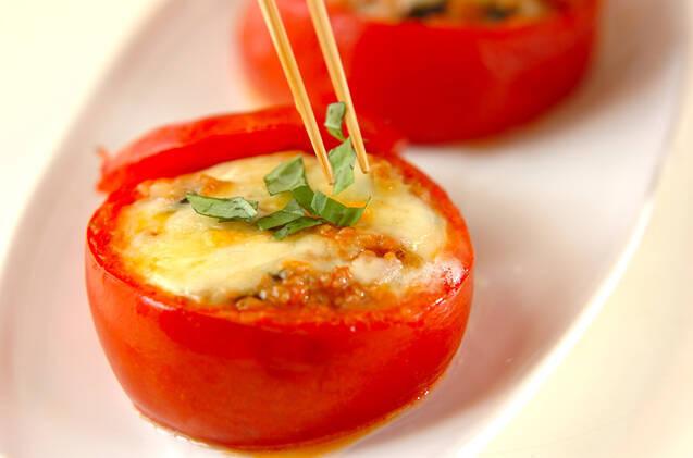 詰め物トマトのオーブン焼きの作り方の手順8
