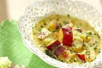 サツマイモのカレークリームスープ
