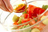 アボカドとトマトのマリネの作り方の手順2