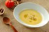カボチャの冷製豆乳ポタージュの作り方の手順