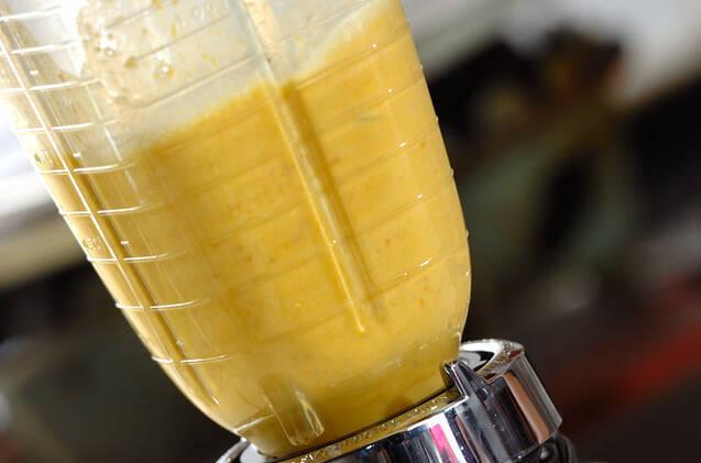カボチャの冷製豆乳ポタージュの作り方の手順3