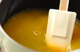 オレンジ葛湯の作り方1