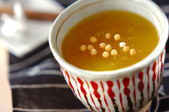 オレンジ葛湯