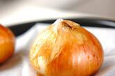 焼き玉ネギサラダの作り方1