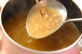 ナメコと納豆のみそ汁の作り方1