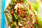 ラム肉の炒め物
