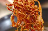 カリカリゴボウの作り方2