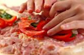 圧力鍋で簡単☆ロールチキンのトマト煮の作り方1
