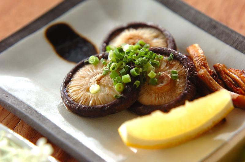 6. 椎茸のバターソテー
