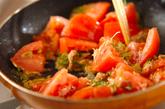 トマトと卵の炒め物の作り方1