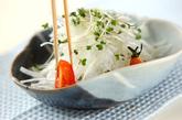 大根とスプラウトのサラダの作り方1