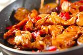 鶏と野菜の黒酢煮の作り方6