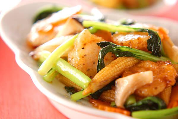中国野菜・ターサイのおすすめレシピ15選♪ 和え物や煮物も
