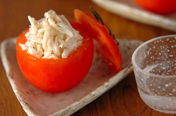 カップトマトのサラダ