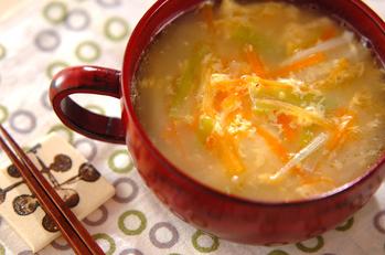 かき卵中華スープ