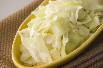キャベツの温サラダ