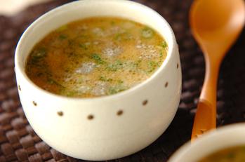 大根とひき肉の酒粕スープ