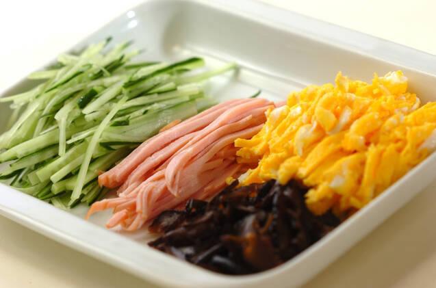 韓国風万能タレでツルっと素麺♪の作り方の手順3