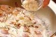 マッシュルームのパスタの作り方3