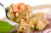 アボカドとエビのサラダの作り方の手順4