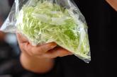 白菜とフルーツのサラダの作り方1